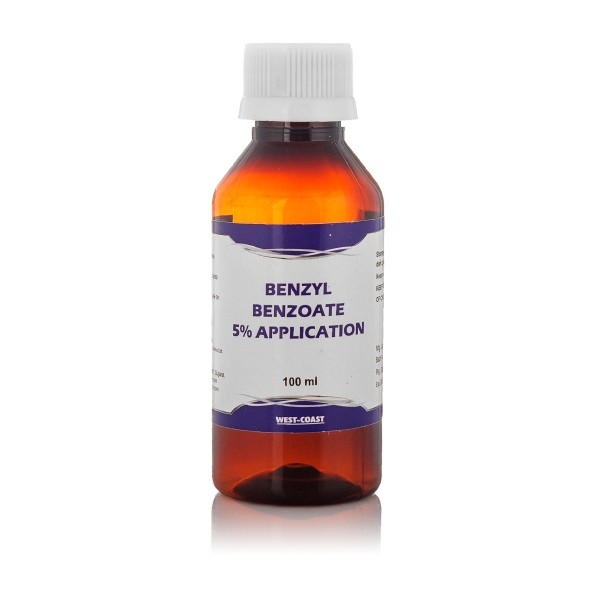 benzyl benzoate 5% application