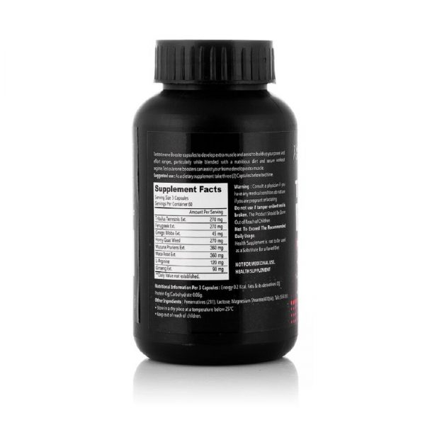 Healthvit Fitness Testosterone Booster Supplement, Boost Men Muscle Growth & Energy 90 Capsules-2
