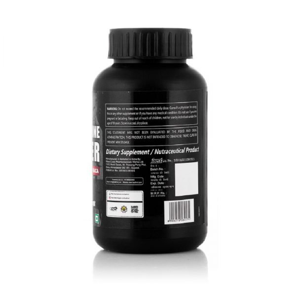 Healthvit Fitness Testosterone Booster Supplement, Boost Men Muscle Growth & Energy 90 Capsules.-3