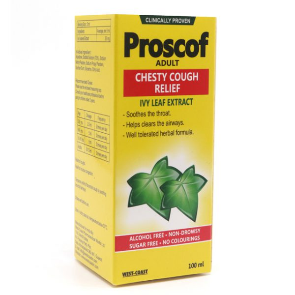 PROSCOF CHESTY COUGH RELIFE -ADULT