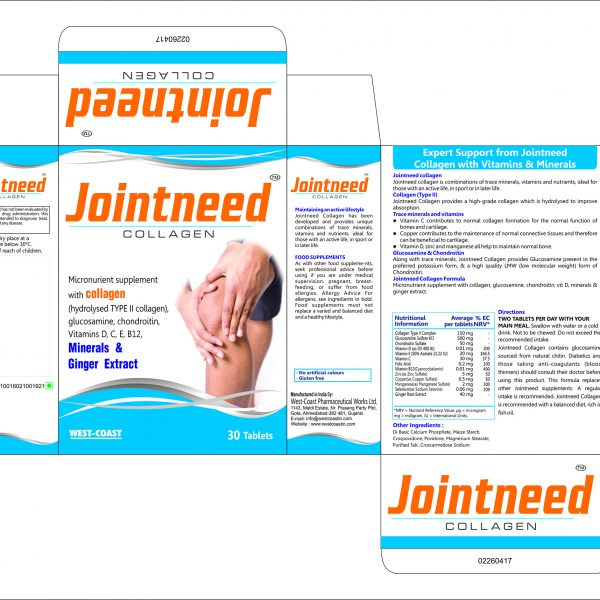 JOINTNEED COLLAGEN BOX