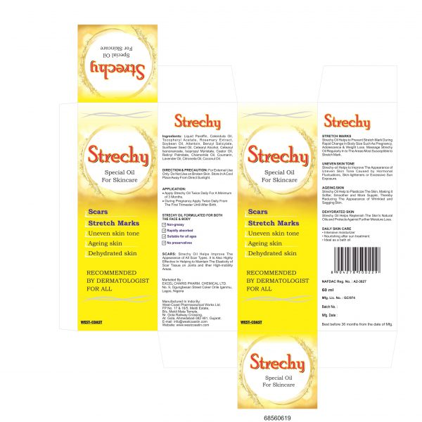 STRECHY SPECIAL OIL FOR SKINCARE BOX