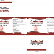 CARBMINT TABLETS BOX